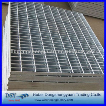 supper quality hot dipped Galvanized Steel Grating for platform(anping factory,since1985)