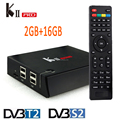 Android smart tv box full 4k hd media player 2017 KII pro Android tv box