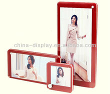 Hot sale 3 layered acrylic photo picture frames