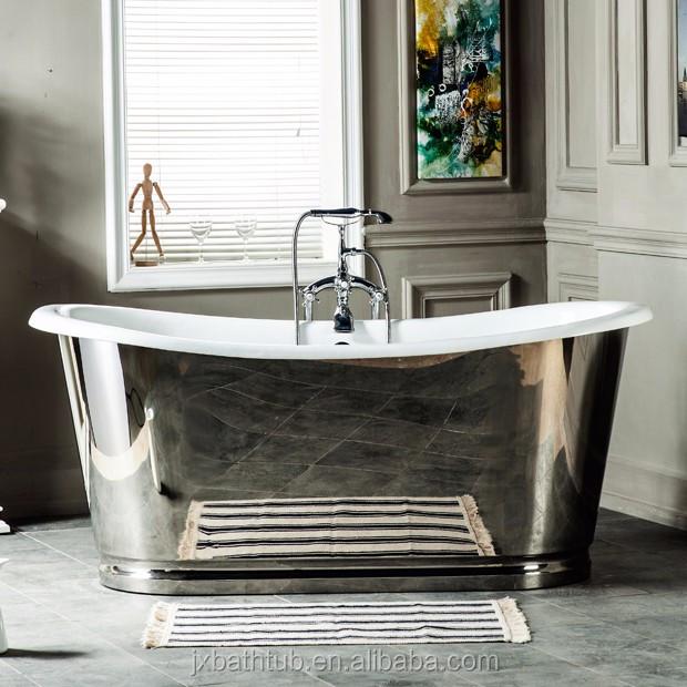 freistehende g nstige gusseisen dusche pan keramik badewanne und flacher schuh badewanne polen. Black Bedroom Furniture Sets. Home Design Ideas