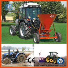 mobile atv fertilizer spreader machine