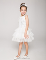 dress flower girl gown scoop neckline sleeveless sexies girls in hot night dress ED778