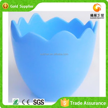 Wholesale Colorful Mini Plastic Pots Egg Shape Flower Pots Plants Pot