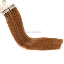 HARMONY ตรงและหยิกบราซิล Double Drawn Remy หนังกำพร้า 30 นิ้วเทป Remy Hair Extensions