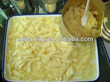 WATER PRESERVED BAMBOO SHOOT CAN FOOD