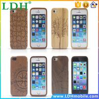 New Arrival Bamboo Traditional sculpture Wood Hard Back Wooden Cover phone Case for iphone 5G 5 5S iPhone5 Case Free Shipping