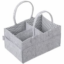 100% Polyester Storage Nursery Portable Foldable Tote Nappy <strong>Bags</strong> Collapsable Hanging Nursery Caddy