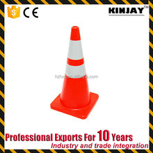 KJ-TC042 High Quality Road Safety PVC Cone Traffic Lane Divider for Roadway Safety
