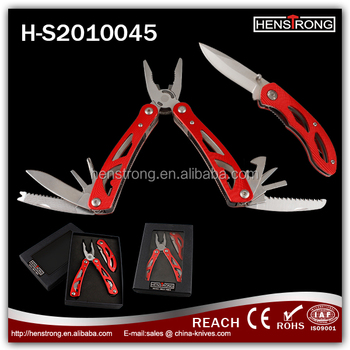 Gift box packing Pocket knife and multi tools sets