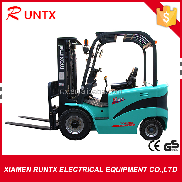 Brand new 2.5 tons electric forklift truck for hot sale