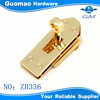 Light gold elegant metal gold handbag hardware clasp