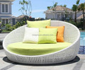 2017 Sigma trade assurance waterproof resin wicker outdoor daybed round