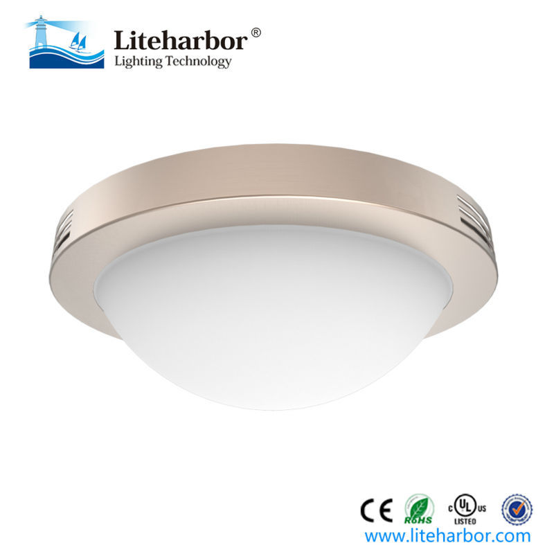 Opal frosted 12 inch flush mount classic living room led ceiling lighting