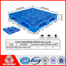Heavy Duty Stacking Storage plastic pallet double sided