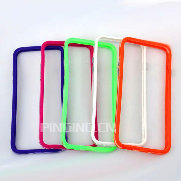 new design pc+tpu colorful frame bumper case for samsung galaxy s4 mini
