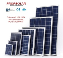 High efficiency Monocrystalline solar panels 200 watt for boat photovoltaic 100w