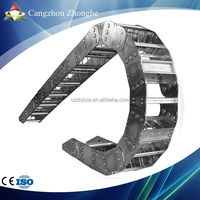 CZZH CE approved Heavy Duty Industrial Steel Cable Drag Chain