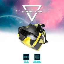 TOVSTO 5.8G Wireless Transmitter 1080P HD FPV Video Glasses With Speaker