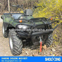 ATV with EEC,quad,4x4 400cc with YAMAHA technology engine