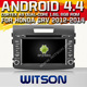 WITSON ANDROID 4.4 FOR HONDA CRV CAR STEREO WITH RAM 8GB FLASH BLUETOOTH STEERING WHEEL SUPPORT