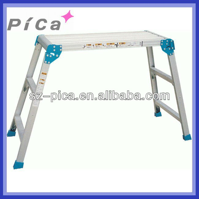 Car wash aluminium folding work platform