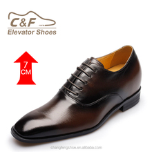 Men Brand Fashional Formal Party Shoes with Elevator Height Increasing Function