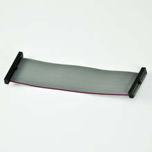 Supply 1.27 Pitch Grey 10 pin flat ribbon cable for electronic product