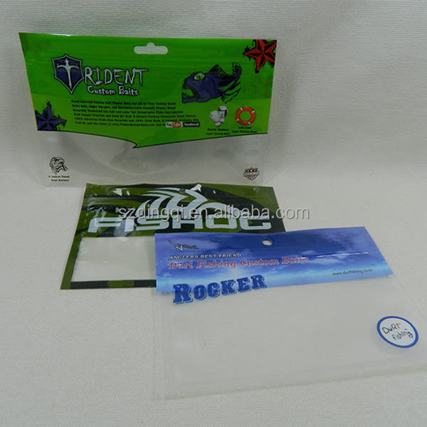 fishing lure packaging bag,soft plastic worm lures bag,spinner bait heads packaging bags