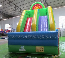 newest design Purple Passion inflatable water slide/ waterslide factory price