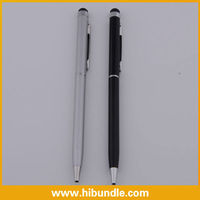 For ipad phone Stylus Touch Pen with Gel ink Ballpoint