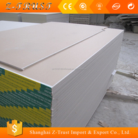 12mm fireproof / waterproof gypsum plaster board
