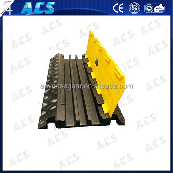 wide use cable protector/quick set up 3 channel cable protector/show equipment cable protector