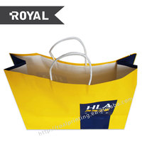 Latest new model brilliant quality clothes paper bags for women