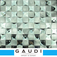 Mirror Mixture Color Crystal Glass Mosaic