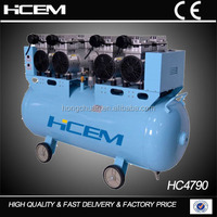 3 KW /4HP heavy duty dental air compressor with painting attachment