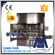 Manufacturer sales MIC Machinery automatic edible soybean oil bottle filling machine and sunflower oil bottling machine price