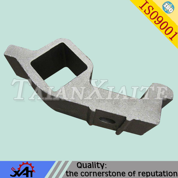 Alloy steel shank brackets for construction machinery steel casting parts lost wax precision casting