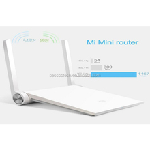 Xiaomi Router Mini mi router dual-band 2.4GHz/5GHz Maximum 1167mbps support Wifi 802.11 AC