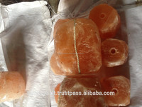 Pink Natural salt lamps/Himalayan Salt/Salt Blocks and Animal Lick Stones