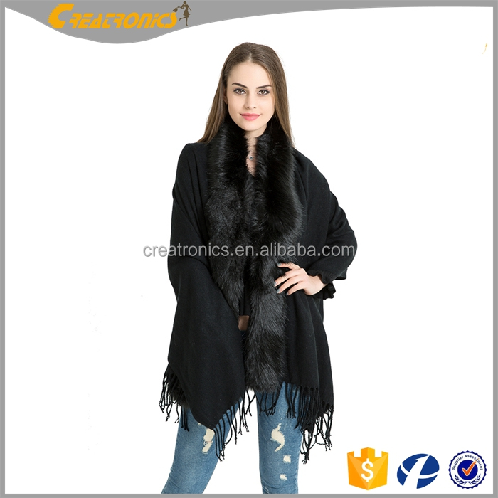 Women Party Clthing Plaid Fashion Accessory Mink Fur Ladies Cape Shawls Winter Knitted Poncho Fur Scarf Shawl