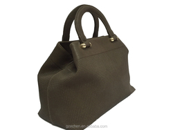 handmade fancy ladies handbag felt tote bag from china handbag manufacturer