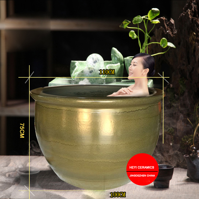 Ceramic smooth surface tub surrounds, ceramic bath Japanese