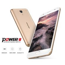 Best Selling Baby Product Low Price Chinese Mobile 3GB RAM 16GB ROM MT6750T 6050mAh 13MP Ulefone Power 2