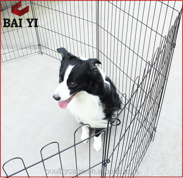 China Pretty Factory Direct Cheap Indoor Square Tube Exercise Dog Play Pen For Dog