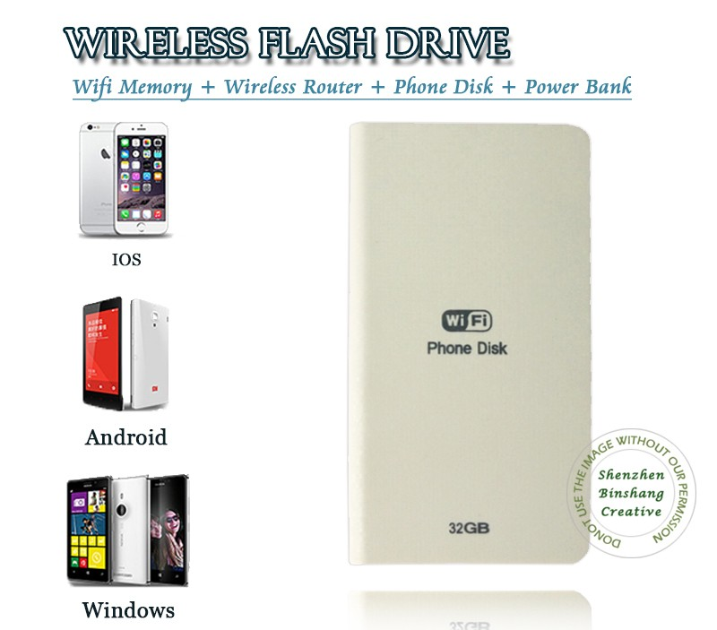 Wifi External HDD hard disk With Router 5000mAh Battery power bank funciton