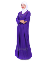 2016 new fashion model muslim dress Saudi Arabia
