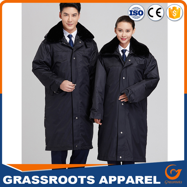 spring and autumn suite hotel district property guard security clothing work uniform black jacket