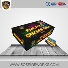 wholesale Chinese novelties high quality cracker ball toy fireworks
