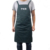 Poly Cotton Black Apron