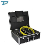 pipe borescope inspection camera monitor / snake pipe inspection camera TEC-Z710DK5